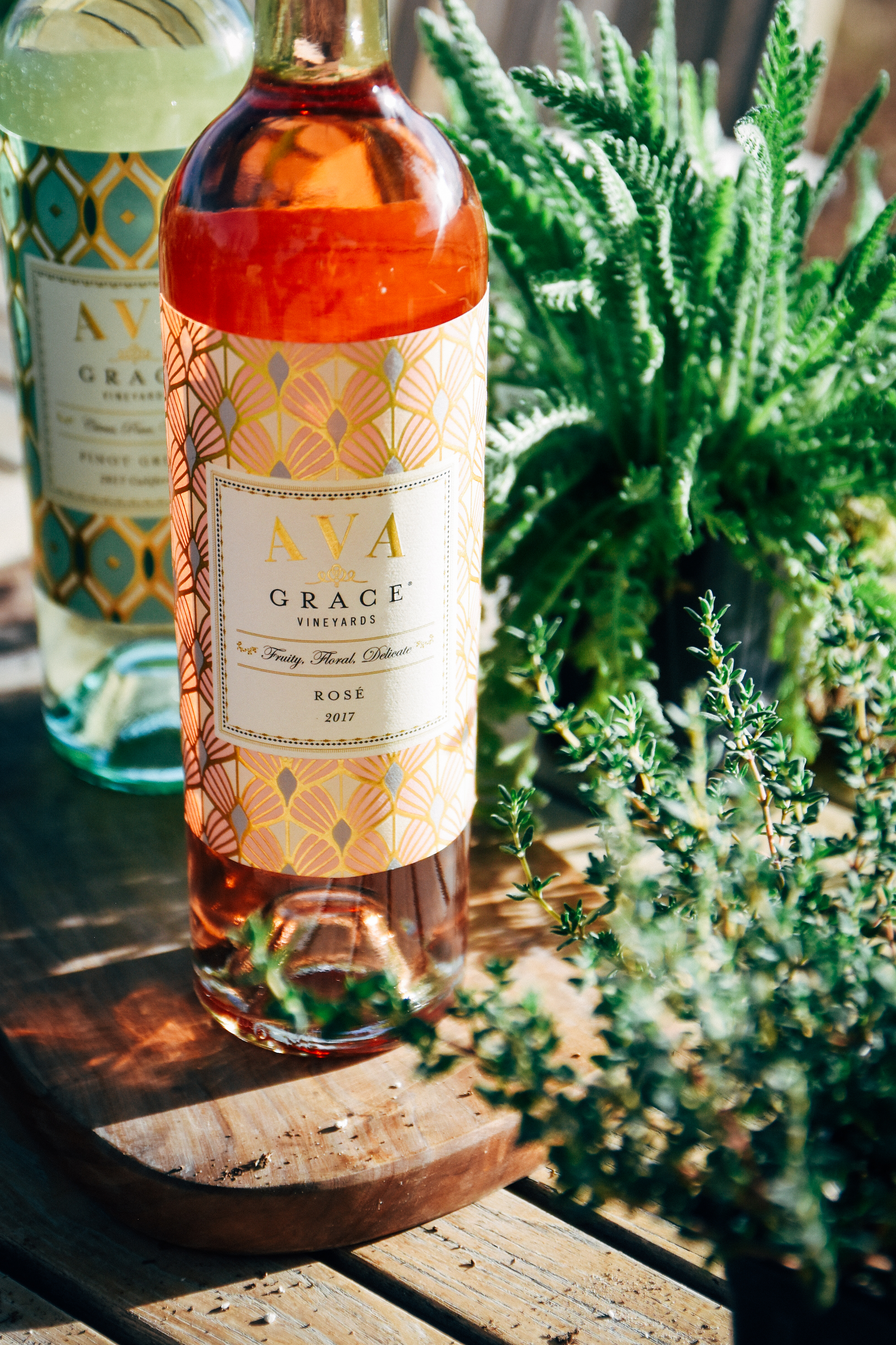 Tasting Through Rose Pinot Grigio With Ava Grace Planting The
