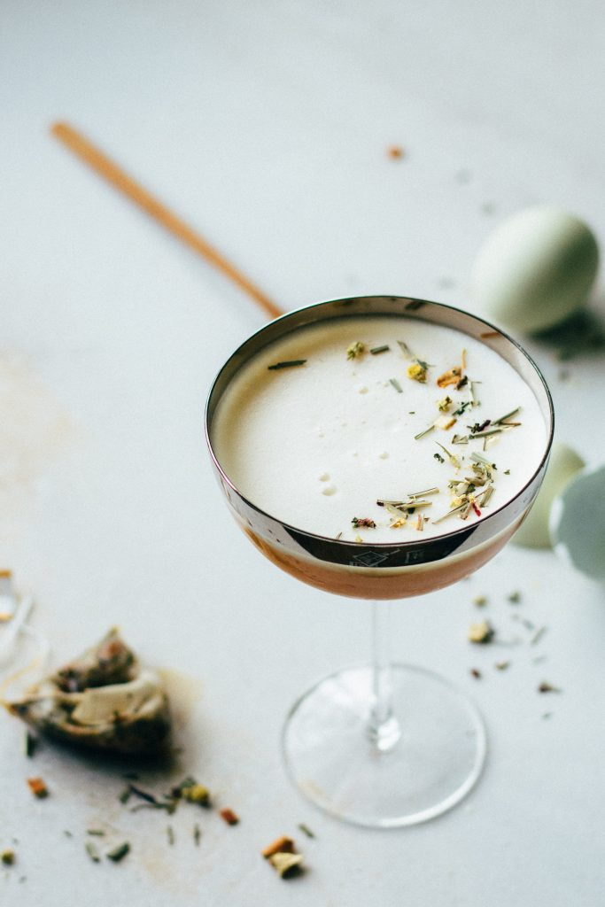 spirit-free chamomile citrus fizzes | the countdown to wine – holly